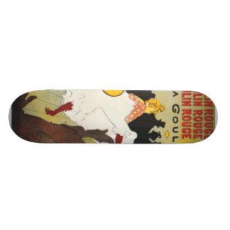 ツールーズLautrecポスター芸術 スケートボード