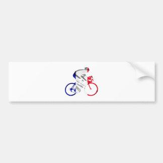 ツール・ド・フランスのサイクリスト バンパーステッカー