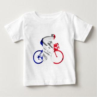 ツール・ド・フランスのサイクリスト ベビーTシャツ