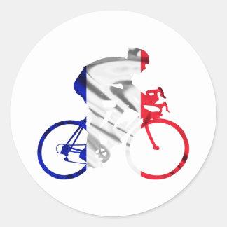 ツール・ド・フランスのサイクリスト ラウンドシール