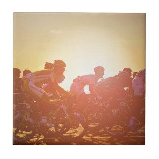 ツール・ド・フランスの日没 タイル
