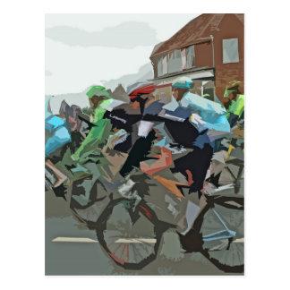 ツール・ド・フランス2014年 ポストカード