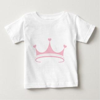 ティアラただピンク ベビーTシャツ