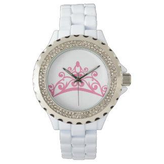 ティアラのラインストーンの腕時計 腕時計