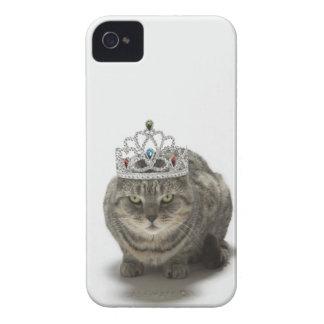 ティアラを身に着けている猫 Case-Mate iPhone 4 ケース