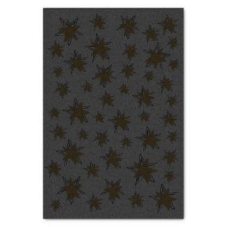 ティッシュペーパーの雪片の星の金ゴールドの銀のクリスマス 薄葉紙