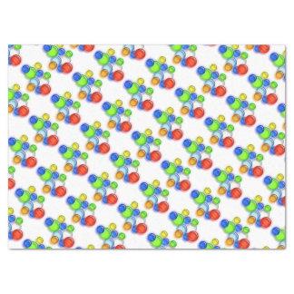 ティッシュペーパー-着色された泡 薄葉紙