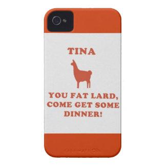 ティナ脂肪質のラード! Case-Mate iPhone 4 ケース