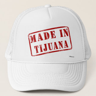ティフアナで作られる キャップ