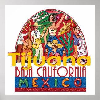 ティフアナメキシコ ポスター