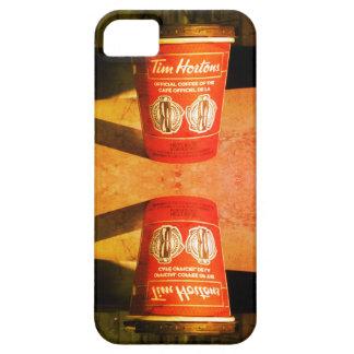 ティムホートンズのコップのiPhoneの場合 iPhone SE/5/5s ケース