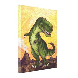 ティラノサウルス・レックスのギフト及び付属品 キャンバスプリント