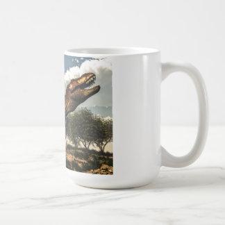 ティラノサウルス・レックスのレックスおよび卵 コーヒーマグカップ