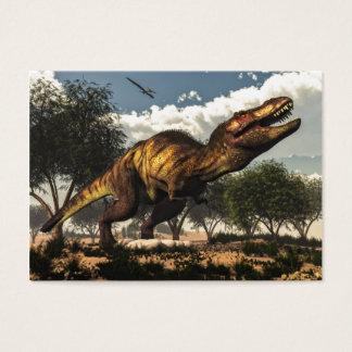 ティラノサウルス・レックスのレックスおよび卵 名刺