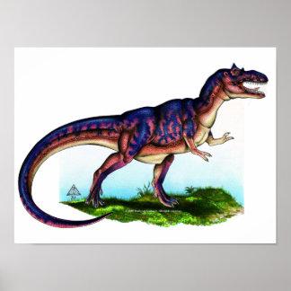 ティラノサウルス・レックスのレックスのプリント ポスター