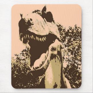 ティラノサウルス・レックスのレックスのポップアート マウスパッド