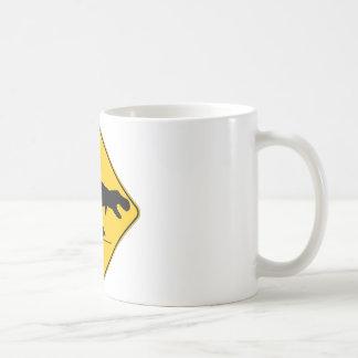 ティラノサウルス・レックスのレックスの交差 コーヒーマグカップ