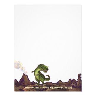 ティラノサウルス・レックスのレックスの執筆物 レターヘッド