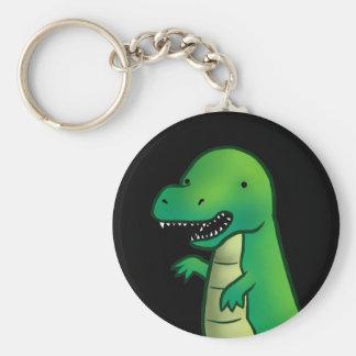 ティラノサウルス・レックスのレックスの恐竜の漫画 キーホルダー