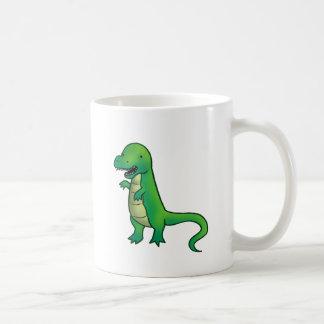 ティラノサウルス・レックスのレックスの恐竜の漫画 コーヒーマグカップ