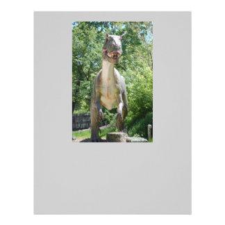 ティラノサウルス・レックスのレックスの恐竜 レターヘッド