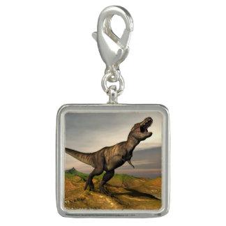 ティラノサウルス・レックスのレックスの恐竜- 3Dは描写します チャーム