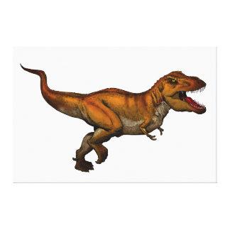 ティラノサウルス・レックスのレックスの連続したTレックス キャンバスプリント