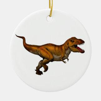 ティラノサウルス・レックスのレックスの連続したTレックス セラミックオーナメント