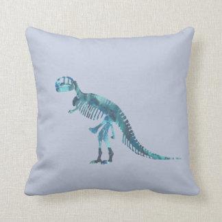 ティラノサウルス・レックスのレックスの骨組芸術 クッション