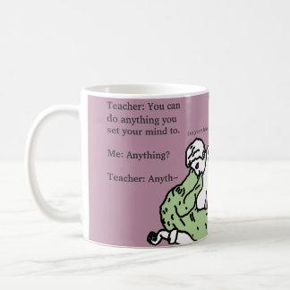 """ティラノサウルス・レックスのレックスのTレックス""""マグ何でも""""することができます コーヒーマグカップ"""