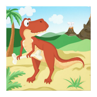 ティラノサウルス・レックスのレックス キャンバスプリント