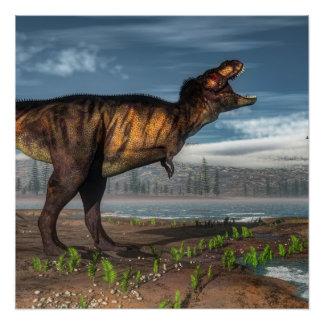 ティラノサウルス・レックスのレックス ポスター