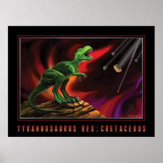 ティラノサウルス・レックスのレックス: 白亜 ポスター