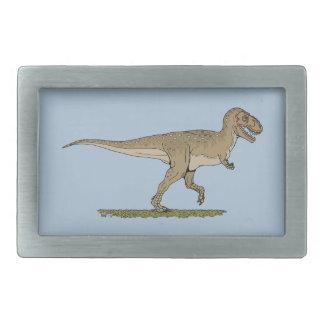 ティラノサウルス・レックスのレックス 長方形ベルトバックル