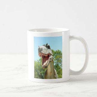 ティラノサウルス・レックスのTレックスの恐竜 コーヒーマグカップ
