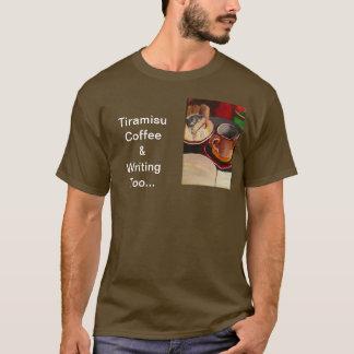 ティラ・ミ・ス、コーヒーおよびTシャツを余りに書くこと Tシャツ
