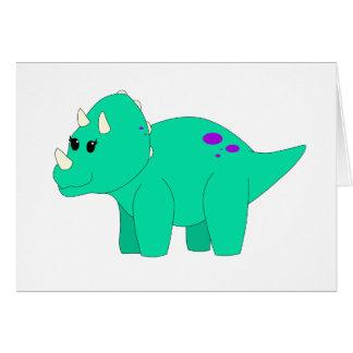 ティリーのトリケラトプス カード