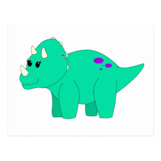 ティリーのトリケラトプス ポストカード