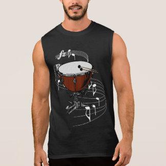 ティンパニー(やかんのドラム) 袖なしシャツ