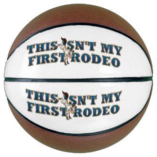 ティーない私の最初ロデオ バスケットボール