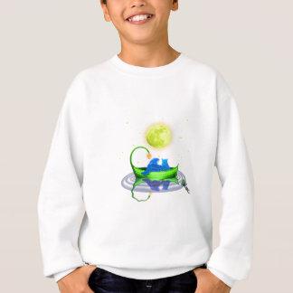 ティーのためのフクロウ7の猫 スウェットシャツ