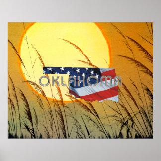 ティーのオクラホマの愛国者 ポスター