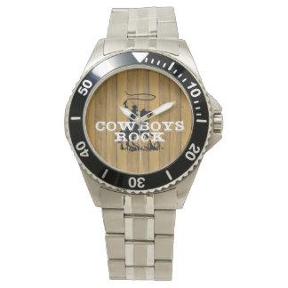 ティーのカウボーイの石 腕時計