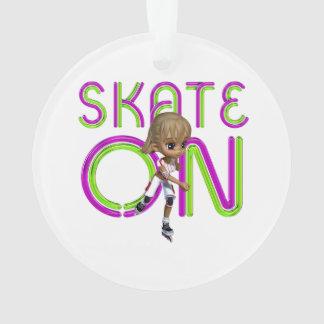 ティーのスケート オーナメント