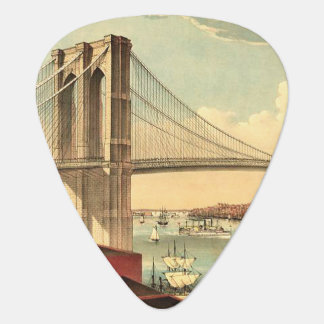 ティーのブルックリン橋 ギターピック