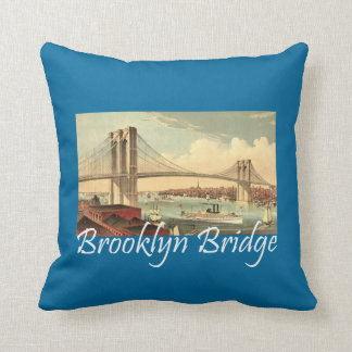 ティーのブルックリン橋 クッション