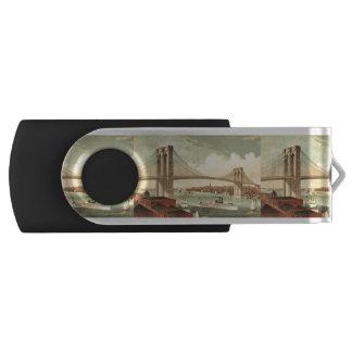 ティーのブルックリン橋 USBフラッシュドライブ