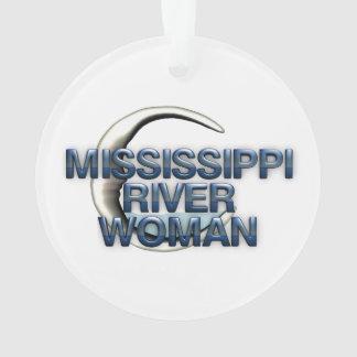 ティーのミシシッピー川の女性 オーナメント