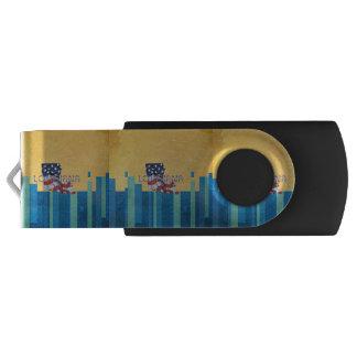 ティーのルイジアナの愛国者 USBフラッシュドライブ