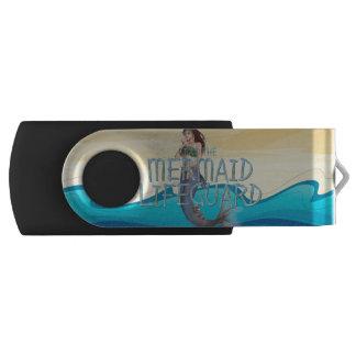 ティーの人魚のライフガード USBフラッシュドライブ